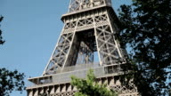 Discovering the mighty, big Eiffel Tower in Paris, France video