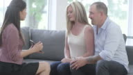 Discussing Investment with a Financial Advisor video