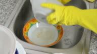 Dishwashing video