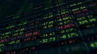 Display of Stock market video