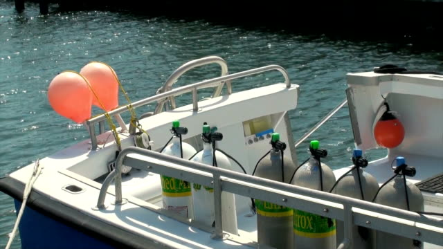 Dive Boat video