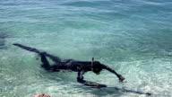 Diver video
