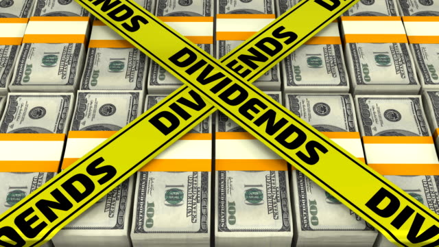 Dividends. Suitcase full of money video