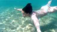 Diving in the exotic seas video