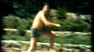 Diving Man 1950's video