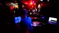 Dj Per qx at disco club video
