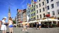 Dlugi Targ in Gdansk video