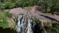 Dnepr River. Aerial Survey video