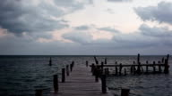 Dock and sea video