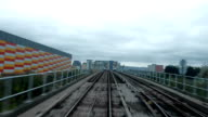 DocklandDocklands Light Railway, London, England, UK video