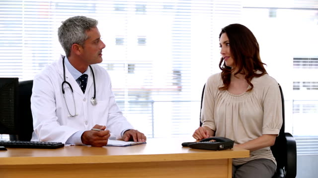 Doctor and a patient video