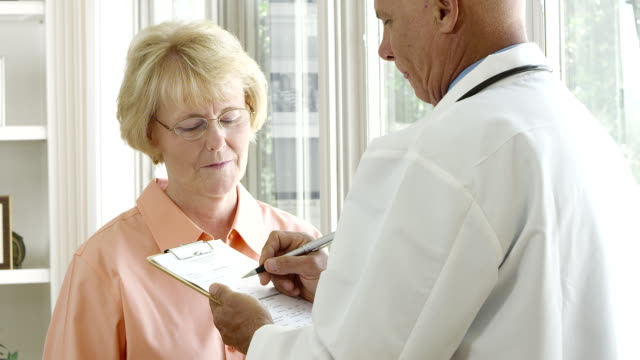 Doctor and Patient consultation video