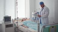 Doctor Comforting Patient video