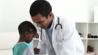 Doctor general check up little boy video