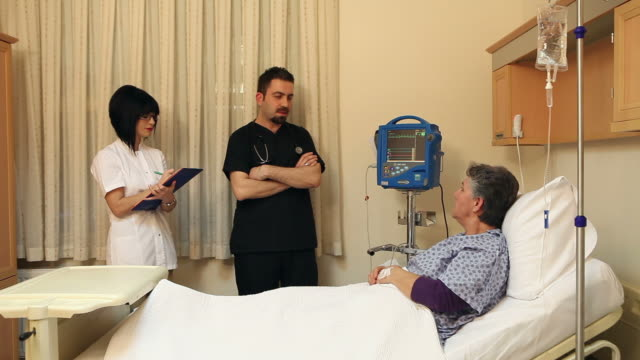 Doctor, Nurse and Patient video