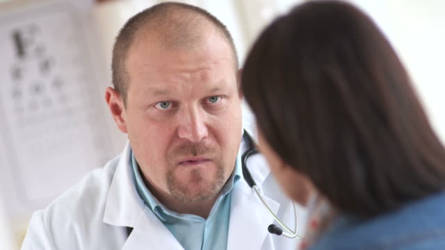 HD: Doctor Talking With Female Patient video