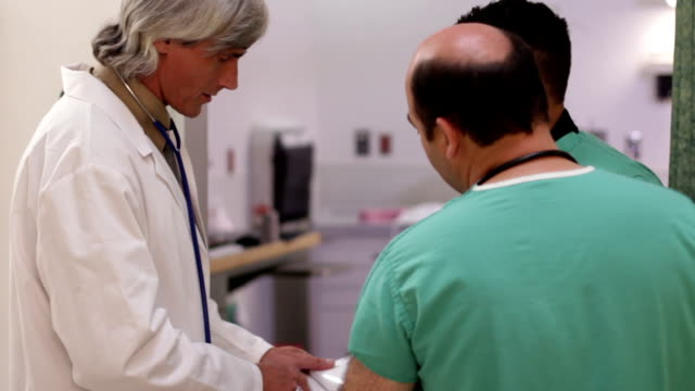 Doctor Talking With Nurse video