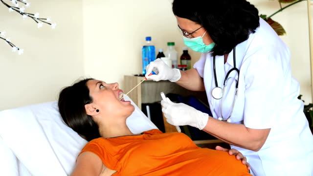 Doctor Testing Biological Specimen video