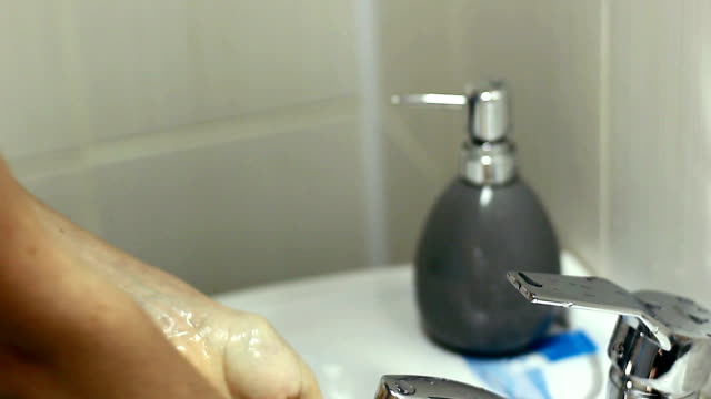 doctor washes his hand video