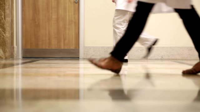 Doctors Feet Walking video