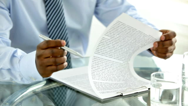 Document reading video