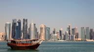 Doha skyline, Qatar video