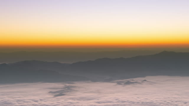 Doi Luang Chiang Dao at sunrise video