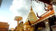 Doi Suthep Temple, time lapse video