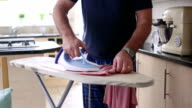 Doing the Ironing video
