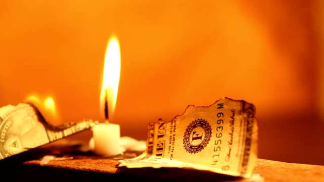 Dollar and Candle video
