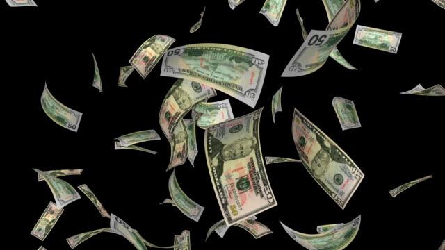 $50 Dollar Bills #1 + ALPHA HD video