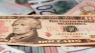 Dollar Pound and Euro Notes video