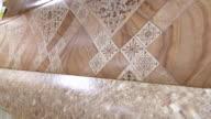 Dolly: Linoleum flooring background video