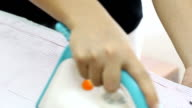 Dolly shot: Shirt ironing video