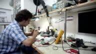HD Dolly Shot Technician Working video