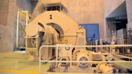 Dolly:Electricity generator in power plant. video