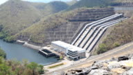 HD Dolly:Power plant, water from dam video