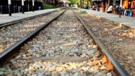 HD Dolly:railroad tracks video