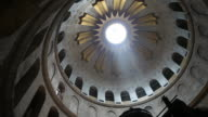 Dome at Church of the Holy Sepulcher in Jerusalem Israel video