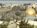 Dome of the Rock and Jerusalem video