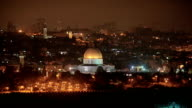 Dome of the Rock during Ramadan video