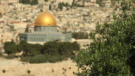 HD Dome of the Rock in Jerusalem video