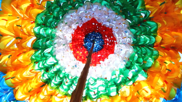 Dome prayer flags video