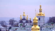 Domes of Kiev Pechersk Lavra video