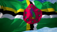 Dominica Flag video