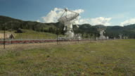 Dominion Radio Astrophysical Observatory, BC, Camera Dolly video