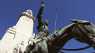 Don Quijote and Cervantes Monument in Madrid video