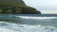 Dooega Head On Achill Island In Ireland video