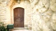 Door ancient house video