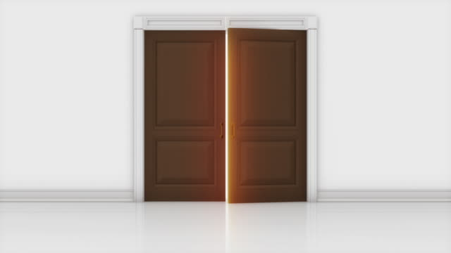 Door Opening Animation video